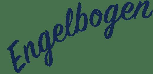 Engelbogen-Schriftzug